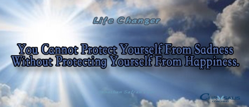 Life Changer Banner fb protect yourself from sadness