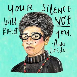 Audre Lorde — Design & Illustration