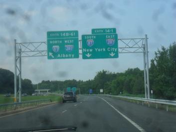 Luke's Signs: Interstate 87/Interstate 287 - N.Y. State